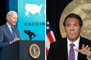 Biden solicita renuncia de Andrew Cuomo, gobernador de Nueva York...