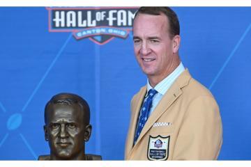 Peyton Manning, quarterback legendario ingresa al Salón de la Fama