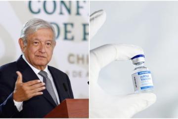 Estados Unidos donará 3.5 millones de vacunas a México: AMLO