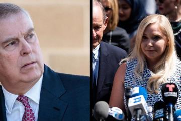 Demandan formalmente al príncipe Andrés por abuso sexual de menores