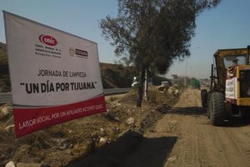 """Ayuntamiento de Tijuana realiza jornada de limpieza """"Un Día..."""