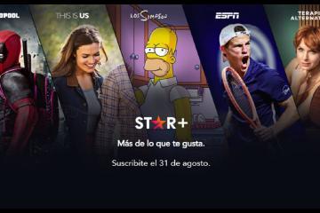 Star Plus, nuevo servicio de Disney Plus, llega a México en agosto