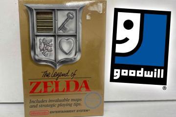 Juego original de Zelda se vende en 411 mil dólares en Goodwill