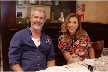 Elected Governor Marina del Pilar meets with Mel Gibson to promote...