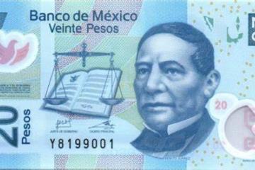 Banxico anuncia nuevo diseño de billete de 20 pesos
