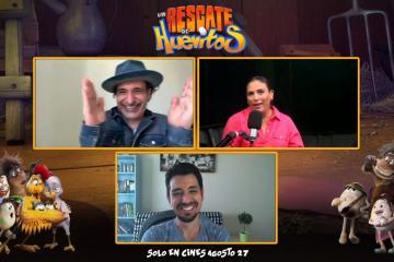 """Entrevista Angélica Vale y Bruno Bichir """"Un Rescate de..."""