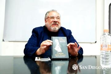 """Tijuana author Carlos Mora presents his book """"Las Doñas"""""""