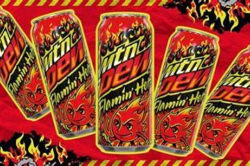 Anuncian lanzamiento de MTN DEW Flamin Hot a finales de este mes