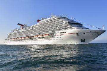 De California a México zarpa primer crucero de Carnival tras un...