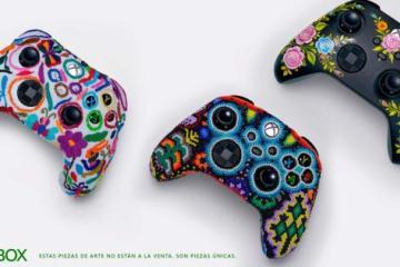 Arte indígena mexicano es plasmado en controles de Xbox