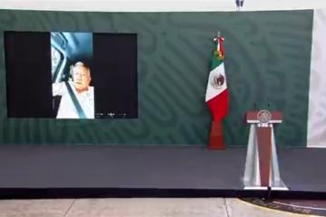 Impiden a AMLO dar su conferencia mañanera en Chiapas