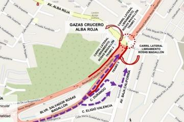 Road closures announced in Tijuana due to urban infrastructure...