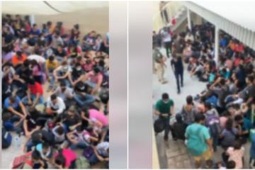 Rescatan a más de 300 migrantes en casa de seguridad en Nuevo León