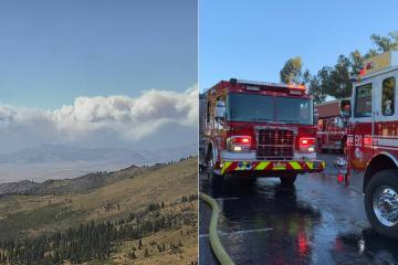Mega incendio en California ha consumido 200 mil hectáreas