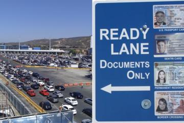Find out what documents allow you to use the Ready Lane at the...