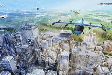 EEUU se prepara para taxis aéreos; NASA inicia pruebas en California