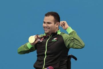 Consigue México sexta medalla de oro en Juegos Paralímpicos de Tokio