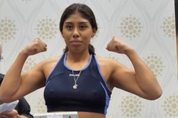 "Muere la boxeadora mexicana ""Chiquitaboom"" tras ser noqueada en..."