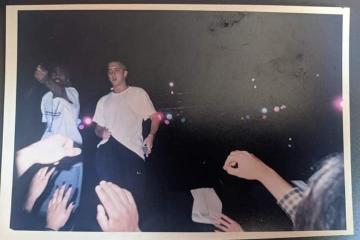 Surgen imágenes de Eminem en concierto Bajacaliforniano