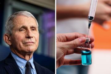 Fauci dice entender la posibilidad de que vacunas Pfizer y Moderna...