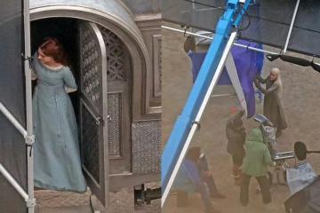 Filtran nuevas fotos del set de House of the Dragon