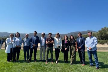 Elected Governor Marina del Pilar visited Napa: seeks to strengthen...