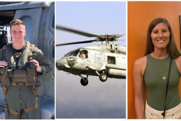 Confirman muerte de 5 marineros que se estrellaron en un...