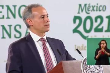 López Gatell en contra del desvío de vacunas anticovid a niños...
