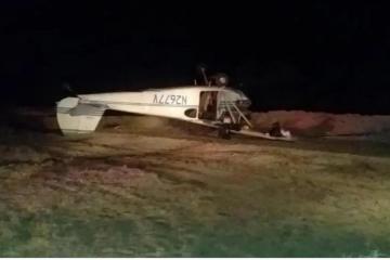 Se registra aterrizaje de emergencia en San Felipe