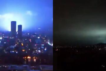 ¿Qué fueron esas extrañas luces tras el terremoto en México?