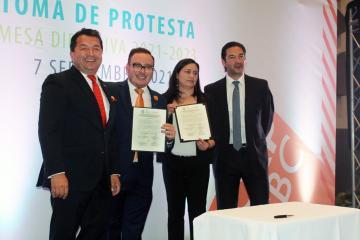 Toma protesta nueva mesa directiva de la PRORP en Baja California