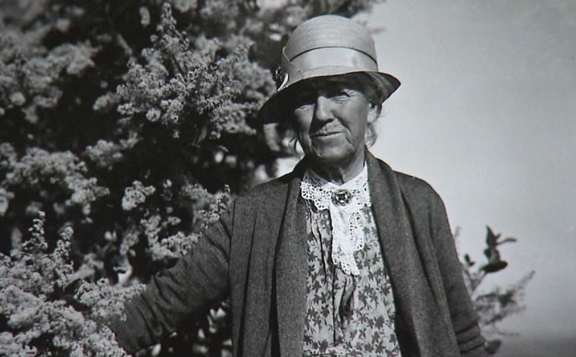 Kate Sessions, circa 1932 (San Diego History Center)