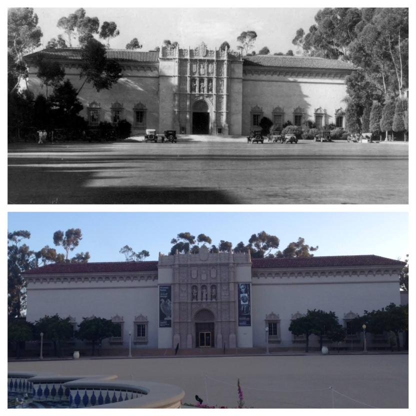 Then and Now: The San Diego Museum of Art (circa late 1920s)