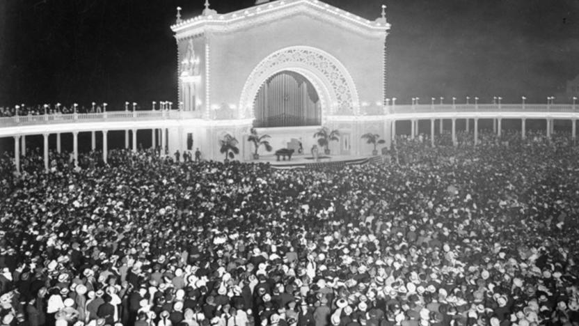 The Spreckels Organ Pavilion, circa 1920's (Balboa Park)