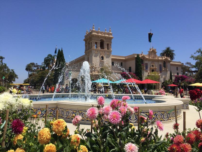 Balboa Park: Plaza de Panama Fountain (2016)