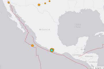 México se sigue sacudiendo: Mexicali registró sismo esta tarde