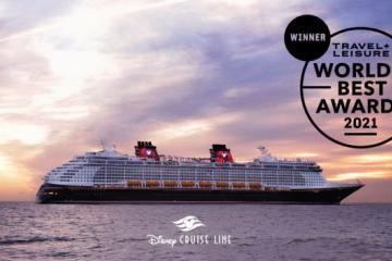 Califican a la línea de cruceros Disney como la mejor del mundo