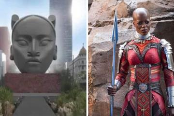 Users on social media claim that Tlali resembles a woman from...