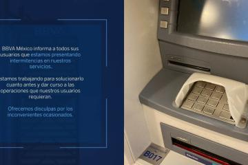 BBVA network fails and leaves customers without money and services
