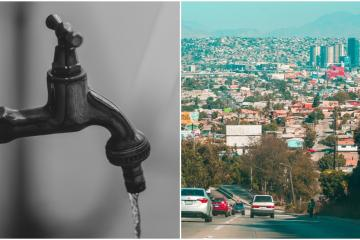 Cespt announces water shutdown for more than 25 Tijuana neighborhoods