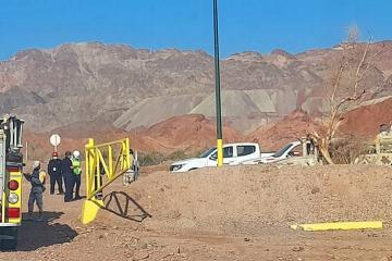 Se derrumba mina en Baja California