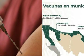 Culmina vacunación en los 45 municipios de la frontera norte del...
