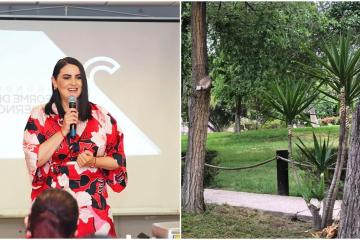 Alcaldesa Karla Ruiz continúa impulsando áreas verdes en Tijuana