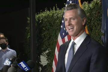 Continuará Gavin Newsom como gobernador de California