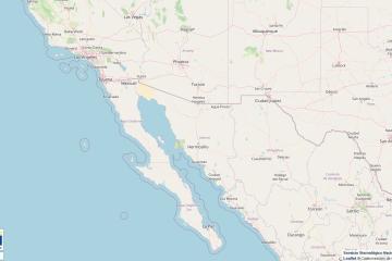 Persiste el mes de los temblores en México: Ahora en San Felipe