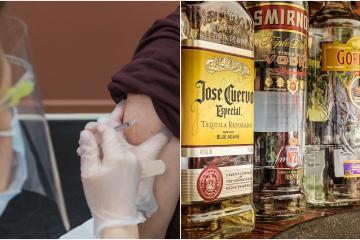 IMSS pide a recién vacunados evitar tomar alcohol en Fiestas Patrias