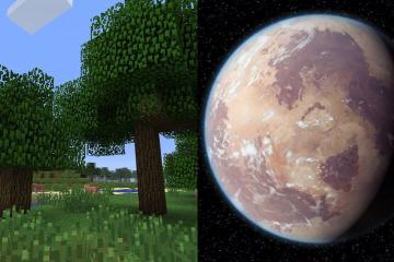 Fanático de Star Wars recrea todos los planetas en Minecraft