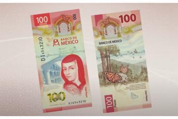 Nuevo billete de $100 pesos mexicano gana premio mundial por su...
