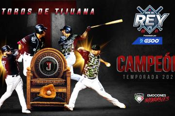 Toros de Tijuana se coronan como los campeones de la Liga Mexicana...
