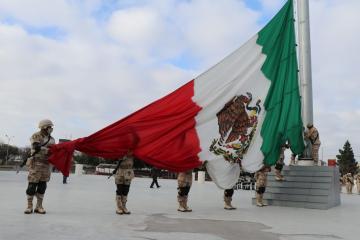 Tijuana City Hall commemorates Independence Day with motorized parade